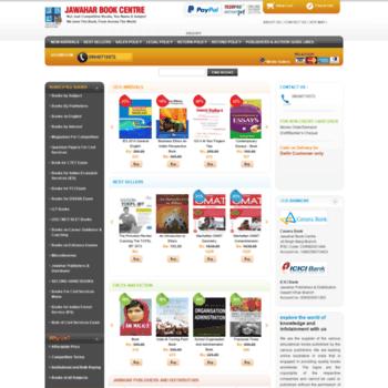 Jawahar-book-centre.com thumbnail