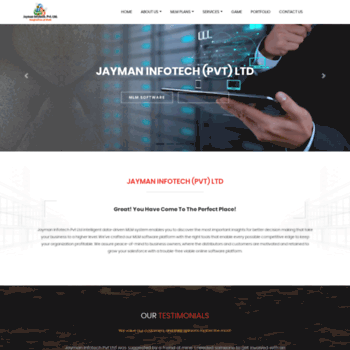 Jaymaninfotech.com thumbnail