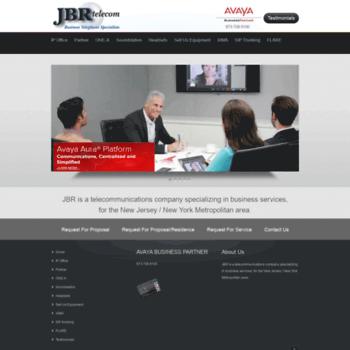 Jbrtelecom.com thumbnail