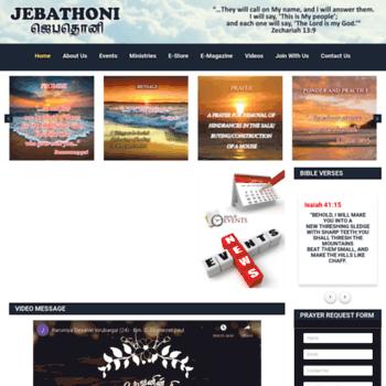 Jebathoni.org thumbnail