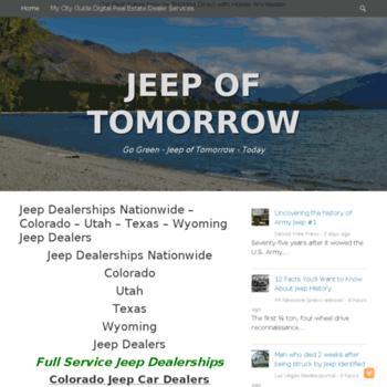 Jeepoftomorrow.info thumbnail