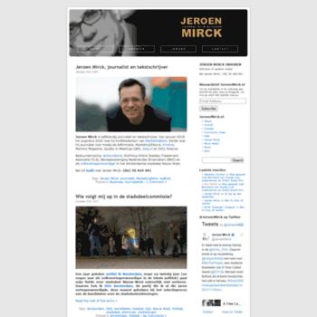 Jeroenmirck.nl thumbnail