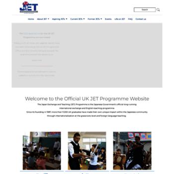 Jet-uk.org thumbnail