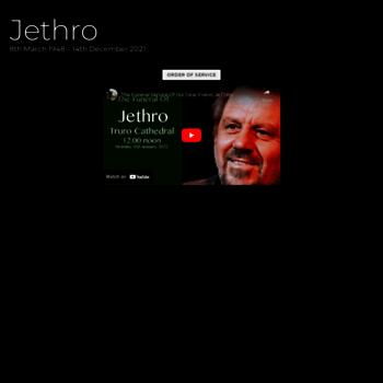 Jethro.co.uk thumbnail