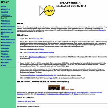 Jflap.org thumbnail
