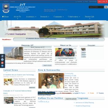 Jit.edu.et thumbnail