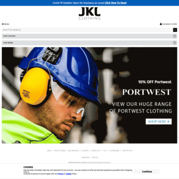 Jklclothing.co.uk thumbnail