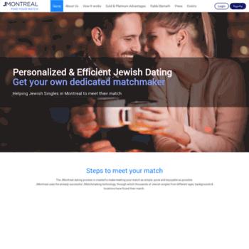 Service de matchmaking à Montréal