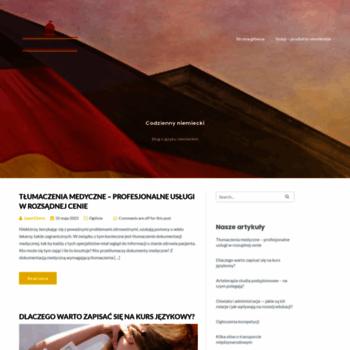 Jniemiecki.pl thumbnail