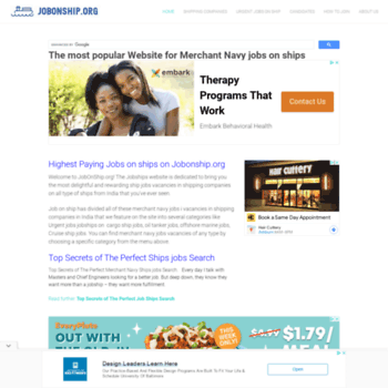 jobonship org at WI  JOB ON SHIP - Sea Jobs | Cruise Jobs | Jobs on