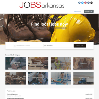 jobsarkansas com at WI  Jobs in Little Rock, AR | Arkansas