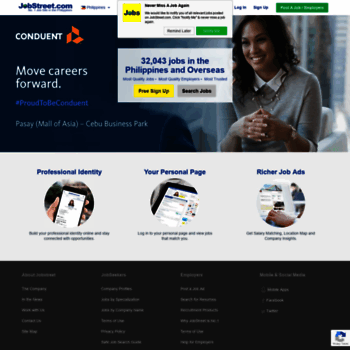 Jobstreetph At WI Jobs In Philippines Job Search