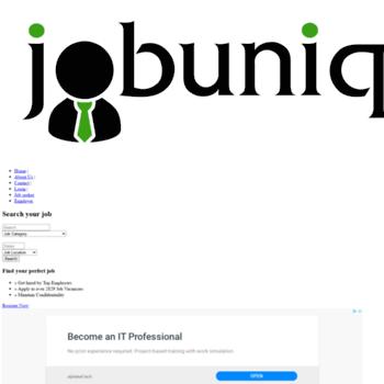 Jobunique.com thumbnail