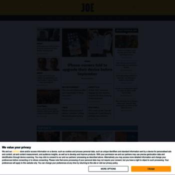 Joe.co.uk thumbnail