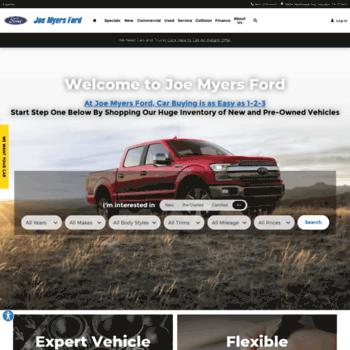 Ford Dealership Houston >> Joemyersford Com At Wi Houston Ford Dealer Joe Myers Ford