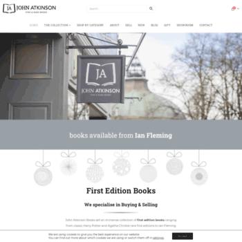 Johnatkinsonbooks.co.uk thumbnail
