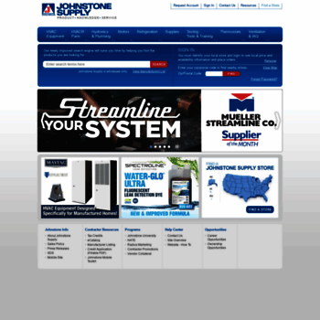johnstonesupply com at WI  Johnstone Supply | Wholesale