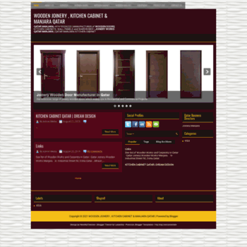 Joinery-woodworks-in-qatar.blogspot.com thumbnail