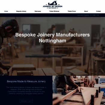 Joinerybydesign.co.uk thumbnail