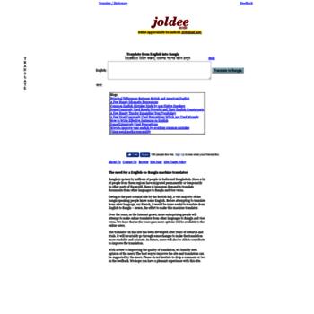 joldee com at WI  English to Bengali Translation and Bangla