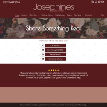 Josephinesflowers.co.uk thumbnail
