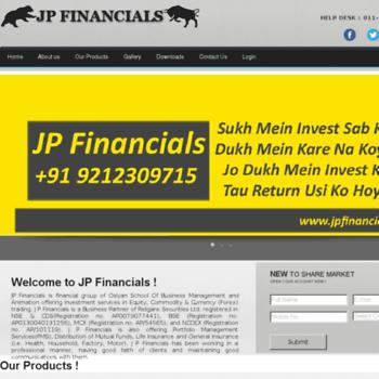 Jpfinancials.in thumbnail