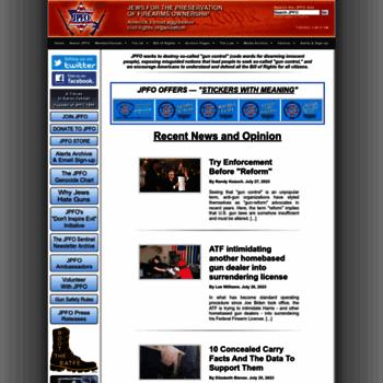 Jpfo.org thumbnail