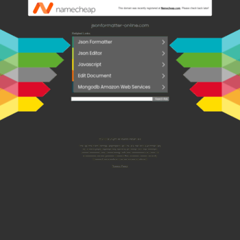jsonformatter-online com at WI  JSON Formatter, Validator