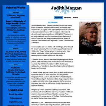 Judithmorgan.net thumbnail