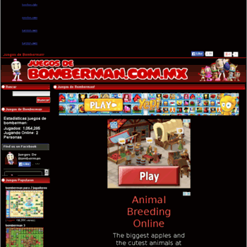 Juegosdebomberman.com.mx thumbnail