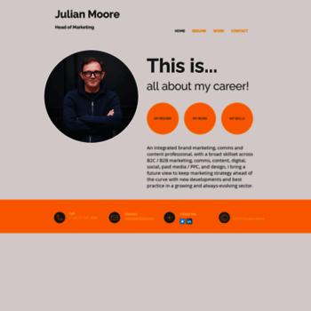 Julianmoore.net thumbnail