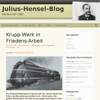 Julius-hensel.de thumbnail