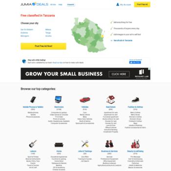 Jumia.co.tz thumbnail