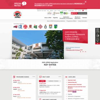 Jupas.edu.hk thumbnail