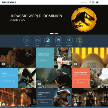 Jurassicworld.es thumbnail