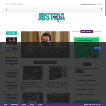Justicaemfoco.com.br thumbnail