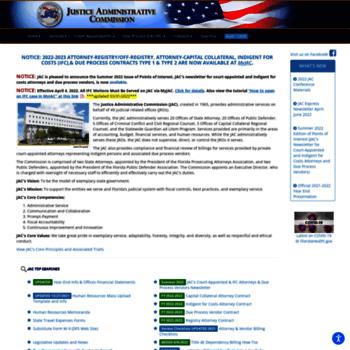 Justiceadmin.org thumbnail