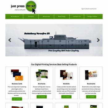 Justpressprint.net thumbnail