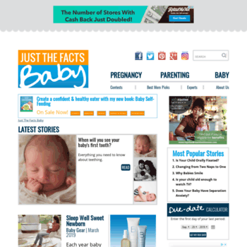 justthefactsbaby com at WI  Baby Facts, Pregnancy Facts