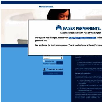 Kaiserpermanente Softheon Com At Wi Kaiser Foundation Health Plan