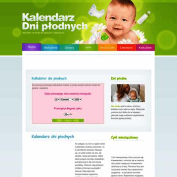 Kalendarzdniplodnych.pl thumbnail