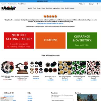 kamsnaps com at WI  Metal & Plastic Snap Fasteners, Grommets