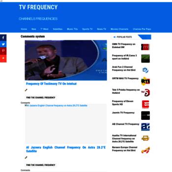 kanalsat com at WI  Hotbird Nilesat Channel Frequency 2018
