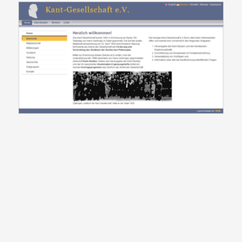 Kant-gesellschaft.de thumbnail
