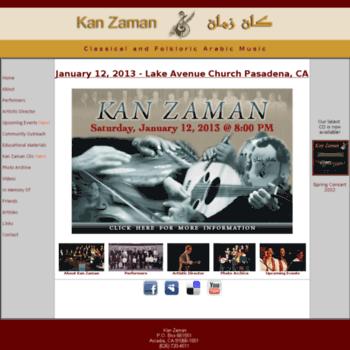 Kanzaman.org thumbnail