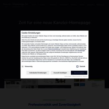 Kanzlei-webdesign.de thumbnail
