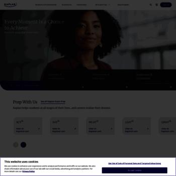 Kaplan.edu thumbnail