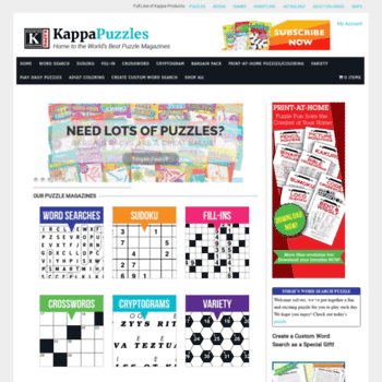 60080bb8b1 kappapuzzles.com at WI. Kappa Puzzles – The Leading Publisher of ...