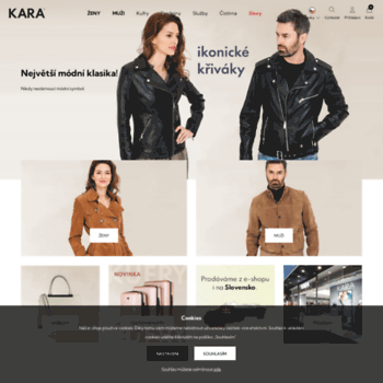 4750d1c6b1d kara.cz at WI. Kara - Online obchod Kara