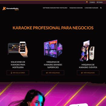 karaokemedia com at WI  KaraokeMedia ® | Karaoke Online and